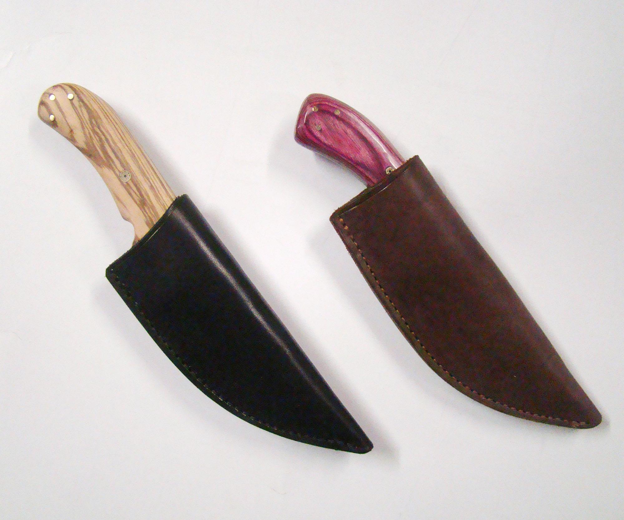 2 Knife sheaths